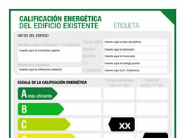Certificado de Eficiencia Energética de edificios o viviendas